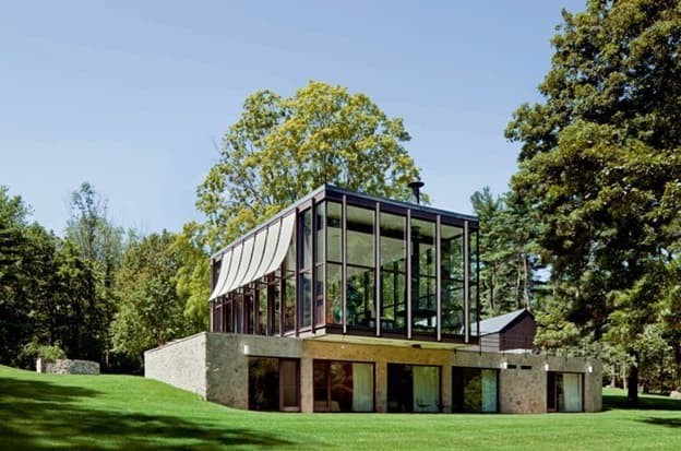 Wiley House by Philip Johnson