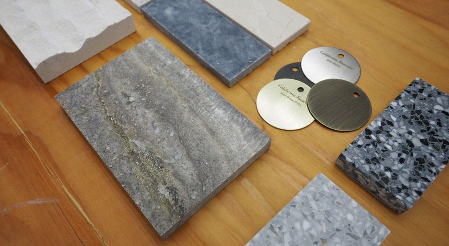 Material opt modal design
