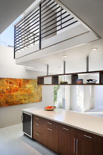 incorporating natural light into modern house
